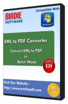 Outlook Express Convert to PDF tool